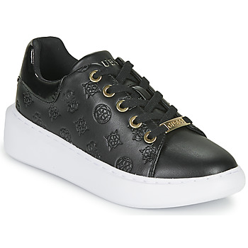Shoes Women Low top trainers Guess BRADLY Black