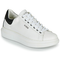 Shoes Men Low top trainers Guess SALERNO White