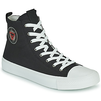 Shoes Men Low top trainers Guess EDERLE Black