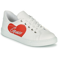 Shoes Girl Low top trainers Guess ELLIE White