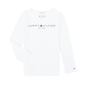 material Girl Long sleeved shirts Tommy Hilfiger KG0KG05247-YBR-C White