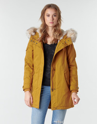 material Women Parkas Only ONLMAY LIFE Mustard