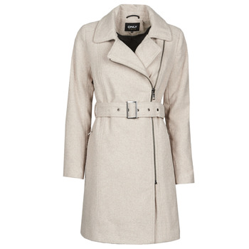 material Women coats Only ONLOLIVIA Grey