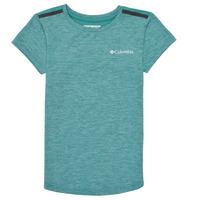 material Girl short-sleeved t-shirts Columbia TECH TREK Green