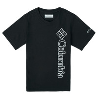 material Boy short-sleeved t-shirts Columbia HAPPY HILLS GRAPHIC Black