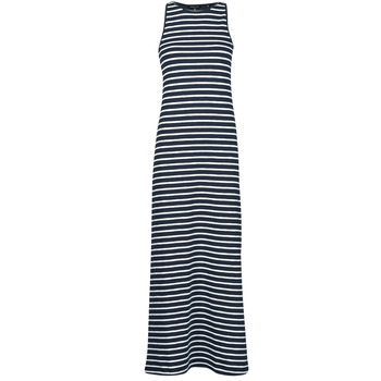 material Women Long Dresses Superdry JERSEY MAXI DRESS Blue