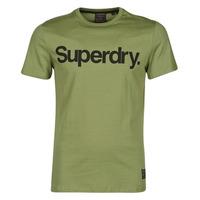 material Men short-sleeved t-shirts Superdry MILITARY GRAPHIC TEE 185 Kaki