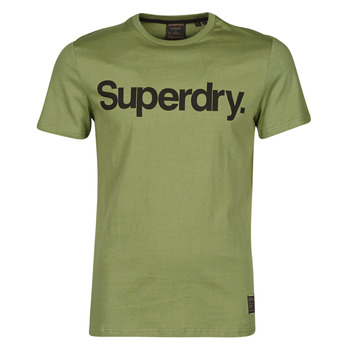 material Men short-sleeved t-shirts Superdry MILITARY GRAPHIC TEE 185 Olive
