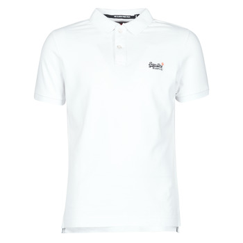 material Men short-sleeved t-shirts Superdry CLASSIC PIQUE S/S POLO Optic