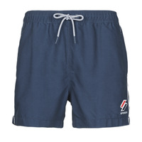 material Men Trunks / Swim shorts Superdry TRI SERIES SWIM SHORT Blue