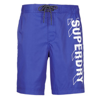 material Men Trunks / Swim shorts Superdry CLASSIC BOARD SHORT 19 INCH Blue