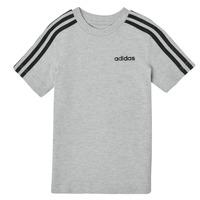 material Boy short-sleeved t-shirts adidas Performance YB E 3S TEE Grey