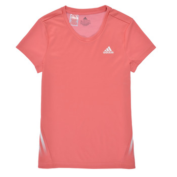 material Girl short-sleeved t-shirts adidas Performance G A.R. 3S TEE Pink