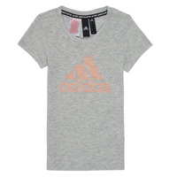 material Girl short-sleeved t-shirts adidas Performance JG A MHE TEE White