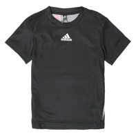 material Boy short-sleeved t-shirts adidas Performance B A.R. TEE Black