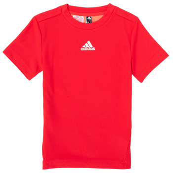 material Boy short-sleeved t-shirts adidas Performance B A.R. TEE Red