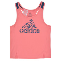 material Girl Tops / Sleeveless T-shirts adidas Performance G LEO TK Pink