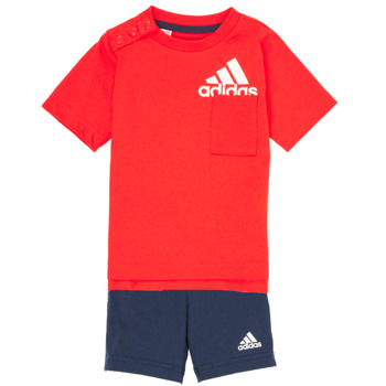 material Boy Sets & Outfits adidas Performance BOS SUM  SET Red / Black
