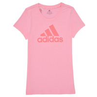 material Girl short-sleeved t-shirts adidas Performance G BL T Pink