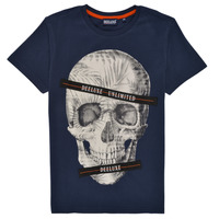 material Boy short-sleeved t-shirts Deeluxe RUDYSON Marine