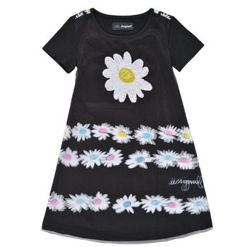 material Girl Short Dresses Desigual 21SGVK28-2000 Black