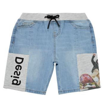 material Boy Shorts / Bermudas Desigual 21SBDD02-5053 Blue