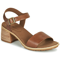 Shoes Women Sandals Timberland LAGUNA SHORE MID HEEL Cognac