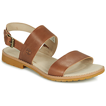 Shoes Women Sandals Timberland CHICAGO RIVERSIDE 2 BAND Cognac
