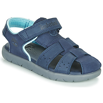 Shoes Children Sandals Timberland NUBBLE LEATHER FISHERMAN Blue