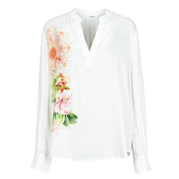 material Women Shirts Desigual TIGRIS White