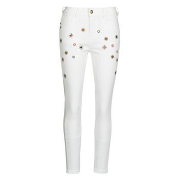 material Women slim jeans Desigual AUSTRIA White