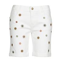 material Women Shorts / Bermudas Desigual GRECIA White