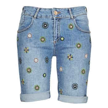 material Women Shorts / Bermudas Desigual GRECIA Blue