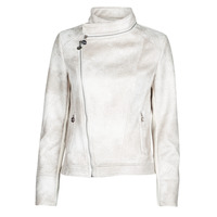 material Women Leather jackets / Imitation leather Desigual CARNABY STREET White