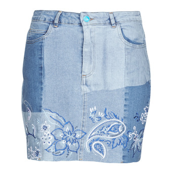 material Women Skirts Desigual BE BLUE Blue