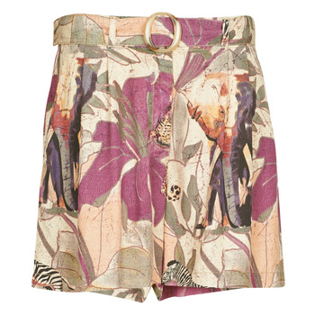 material Women Shorts / Bermudas Desigual ETNICAN Multicolour