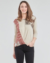 material Women Long sleeved shirts Desigual OPORTO Beige