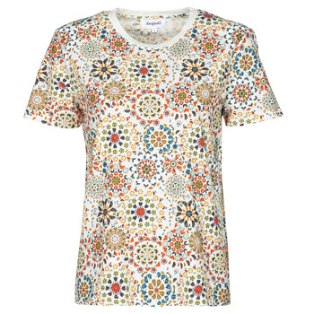 material Women short-sleeved t-shirts Desigual LYON White
