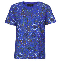 material Women short-sleeved t-shirts Desigual LYON Marine