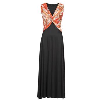 material Women Long Dresses Desigual YAKARTA Black