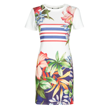 material Women Short Dresses Desigual SAIFO Multicolour