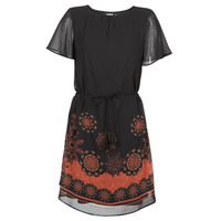 material Women Short Dresses Desigual TAMPA Black