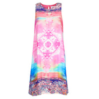 material Women Short Dresses Desigual NANA Multicolour