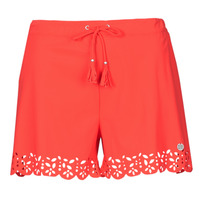 material Women Shorts / Bermudas Banana Moon MEOW Red