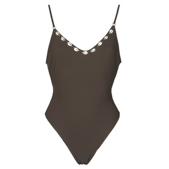 material Women Swimsuits Banana Moon LAUMI Brown