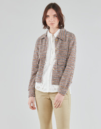 material Women Jackets / Blazers Cream CHANA JACKET Multicolour