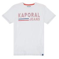 material Boy short-sleeved t-shirts Kaporal EZIO White