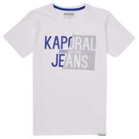 material Boy short-sleeved t-shirts Kaporal MAYO White