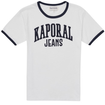 material Boy short-sleeved t-shirts Kaporal METRO White