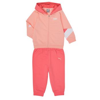 material Girl Sets & Outfits Puma BB MINICATS REBEL Pink / Grey